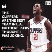 洛城德比提前开战?贝弗利:快船才是洛杉矶最好球队!