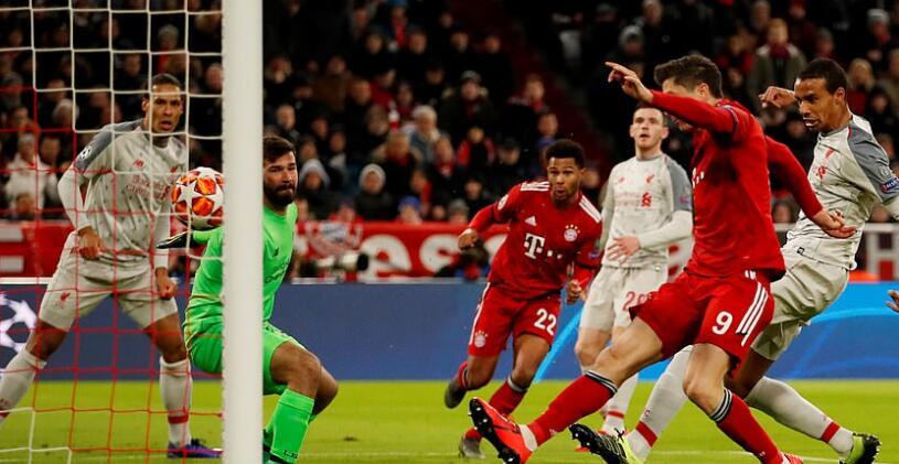 莱万是拜仁仅次于基米希的第二助攻手