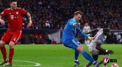 拜仁队长诺伊尔完成了欧冠百场里程碑